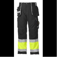 Carpenter Jubilee Pants Class 1, Black/Yellow