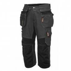 Carpenter SOUL HW/Pirate pants, Black