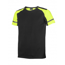 Visible T-shirt, Black/Yellow