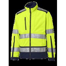Fleece jacket Yellow/Navy
