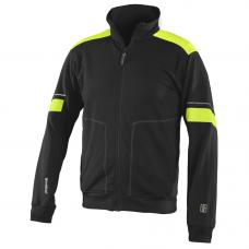 Visible Teknik sweatshirt, Black/Yellow